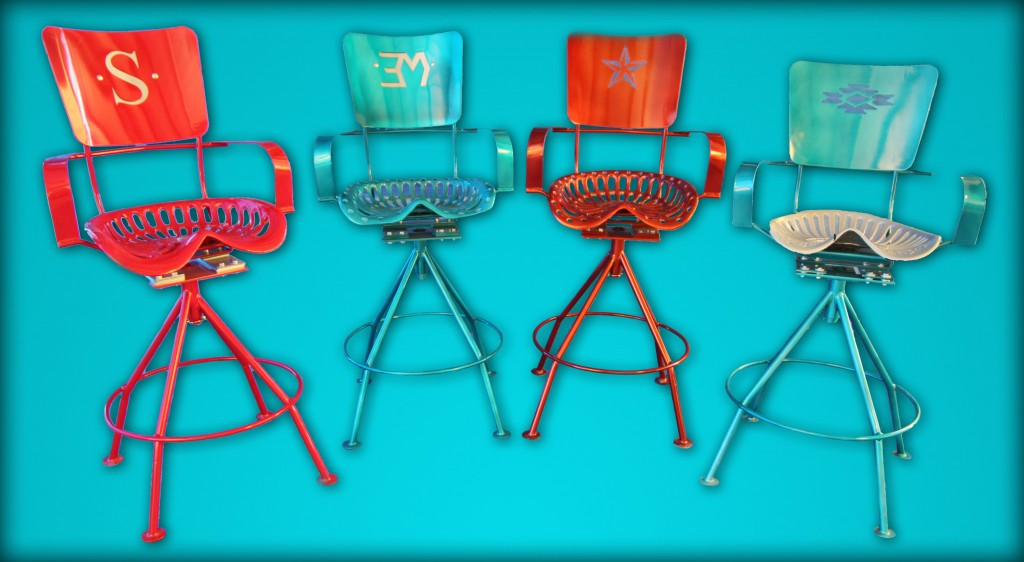 Kickin' Back Kreations 4 Bar Stool Designs