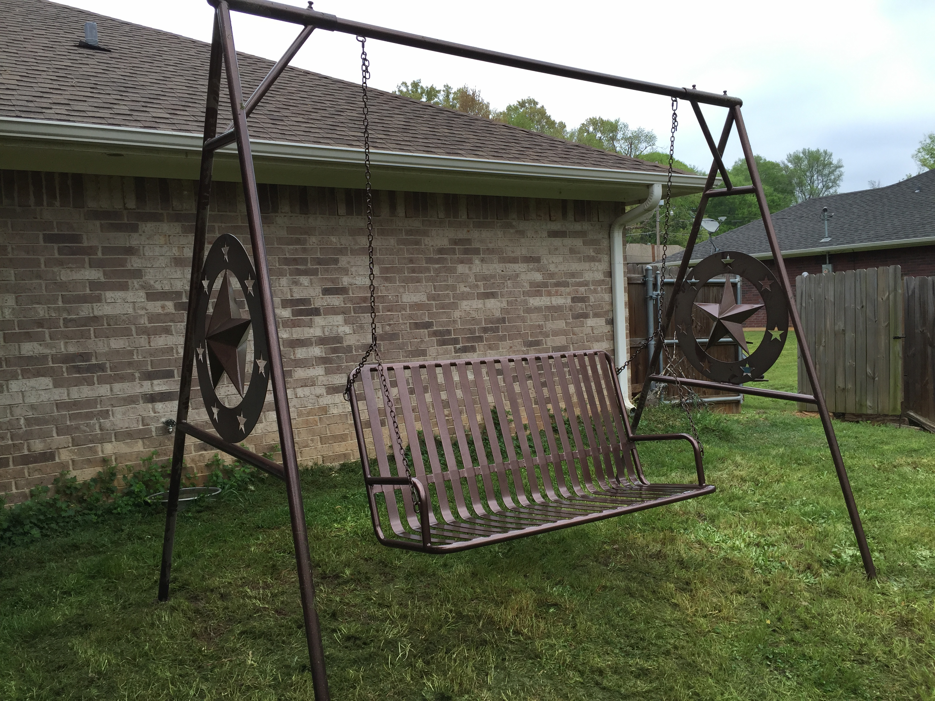 and depot patio wood swing mills outdoor outdoors furniture b stand porch person the n swings set lakeland chairs home